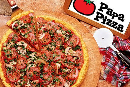 ������ ����� �� ������ ����� �� Papa Pizza �� ������� 50%