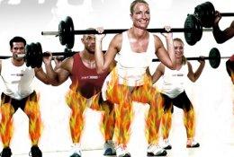 """Силовая тренировка Hot Iron в фитнес клубе """"HotLine Fitness"""" со скидкой 50%. Заплати 445 рублей вместо 990!"""