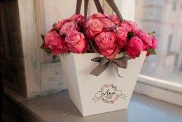"""15 роз за 890 рублей. Розы и хризантемы со скидкой до 50% от салона """"Долина цветов"""""""
