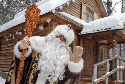 26 декабря поездка в Резиденцию Деда Мороза в Томскую писаницу