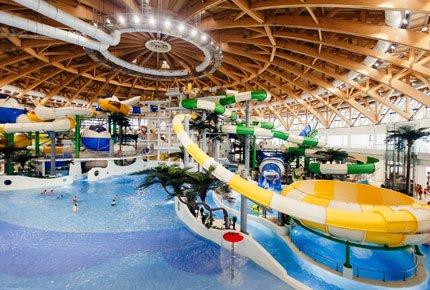23 февраля поездка в Новосибирский аквапарк и ТЦ «Мега+Икея» со скидкой 50%
