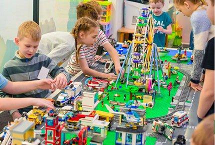 Два часа в игровой LegoCraft по цене одного!