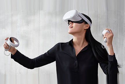 Прокат VR шлема Oculus Quest 2 c выездом на дом со скидкой 50%
