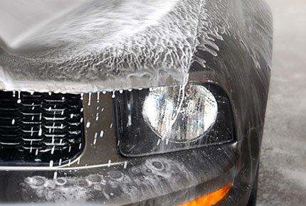 Бесконтактная мойка кузова автомобиля со скидкой 50% на Большой Подгорной