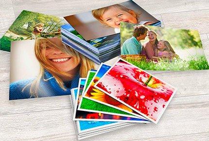 100 фотографий формата 10х15 в интернет-сервисе «Фотокурьер» со скидкой 62%
