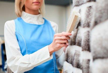 Чистка и окраска меховых шуб в службе «Сатис» со скидкой 50%