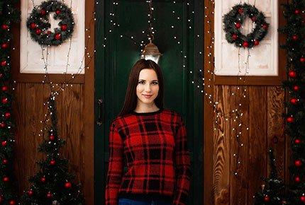 Новогодняя студийная фотосессия в студии Shabby за 1500 рублей вместо 3000