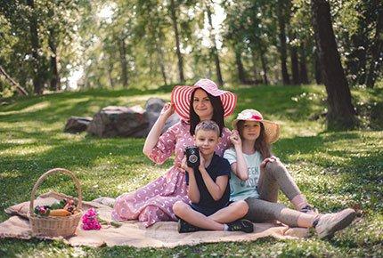 Фотопроект «Пикник» от фотографа Ирэн Боровицкой со скидкой 50%.