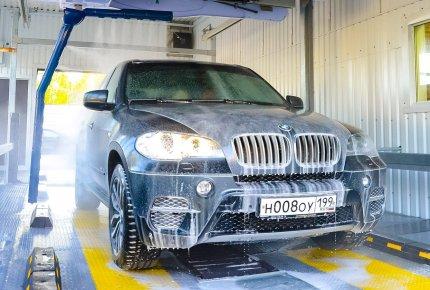 Комплексная уборка салона за 50 рублей на круглосуточной автомойке RobotCarWash на улице Мичурина