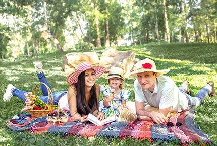 Фотопроект «Пикник» от фотографа Ирэн Боровицкой со скидкой 54%