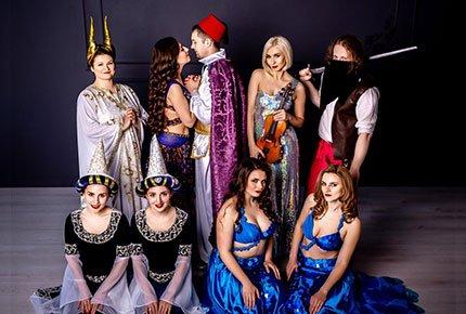 12 мая восточное шоу «Принцесса Шахерезада» в ДНТ «Авангард».