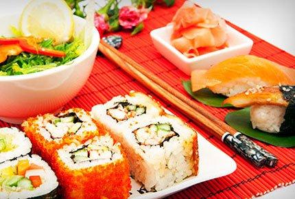 Скидка 50% на наборы суши от Суши-Break