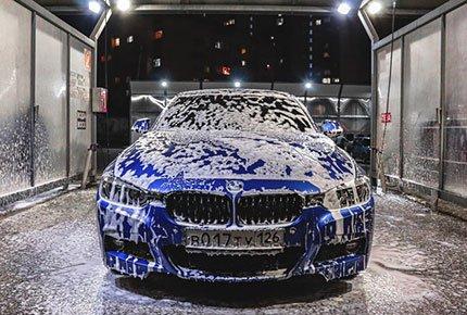 Комплексная мойка со скидкой 50% на новой автомойке AutoSPA на Каштаке