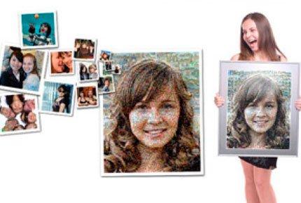 Фотомозаика из вашиx фотографий со скидкой 50% в Color-art. Отличный подарок за 200 рублей вместо 400