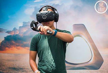 Прокат VR шлема HTC Vive и мощного компьютера с выездом на дом со скидкой 50%