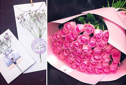 Цветы и открытки со скидкой 50% от цветочной мастерской Roza Bar