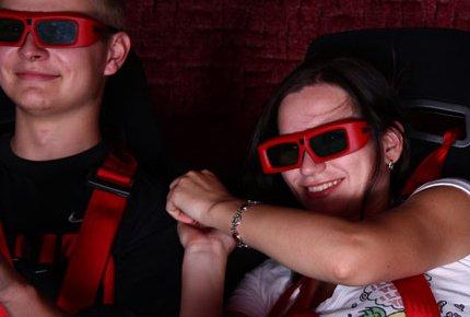 5D-фильмы и аттракцион Zero-Gravity в Киномаксе со скидкой 60%