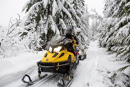 Прокат снегоходов в любой день со скидкой 50% от Prokat-70