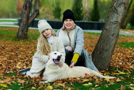 Прогулочная фотосессия «Золотая осень» от Анастасии Сусоевой со скидкой 55%