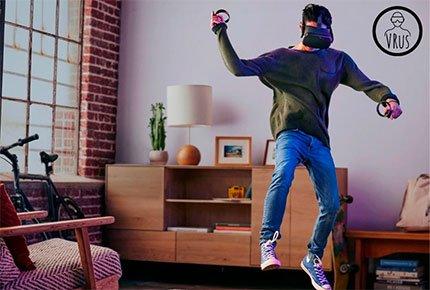 Подарок на любой праздник: прокат VR шлема HTC Vive со скидкой 50%