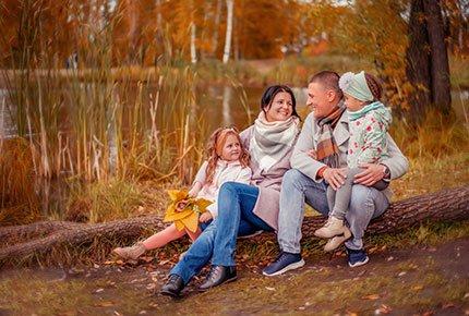 Фотопроект «Осенний фотопикник» со скидкой 50%