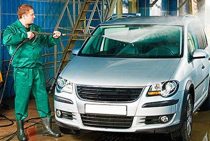 Мойка авто «кузов коврики» + воск от 130 рублей на мойке Bolt Racing на Новодеповской