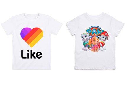 Печать на холсте и футболке со скидкой 50%