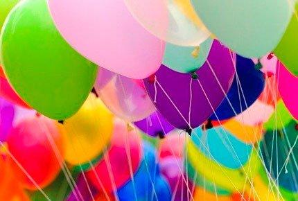 Композиции из воздушных шаров со скидкой 50%