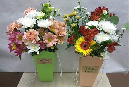 Букеты со скидкой 50% в мастерской цветов «Клевер» на Гагарина