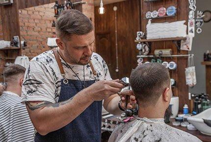Cтрижка в барбершопе BarberCrew на переулке Типографском со скидкой 50%