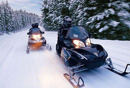 Прокат снегоходов на Иркутском со скидкой 50%