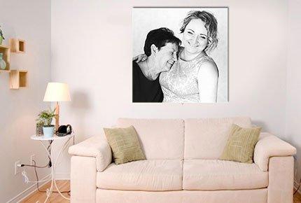 Подарок на любой случай! Печать фото на холсте - постеры со скидкой 50% от частной мастерской на Мамонтова