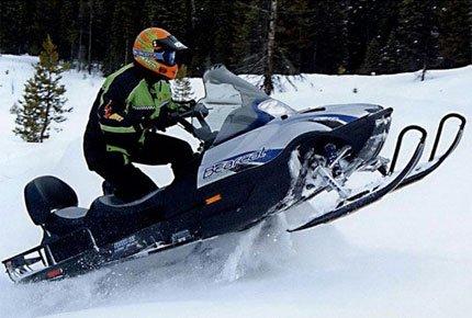 Прокат снегоходов на Сенной Курье со скидкой 50%