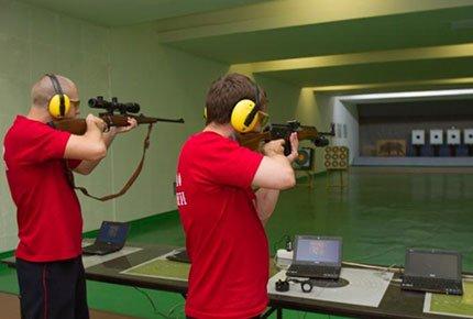 50 выстрелов в тире со скидкой 50%