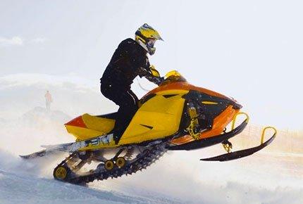 Прокат снегоходов по разным трассам со скидкой 70% и 100%