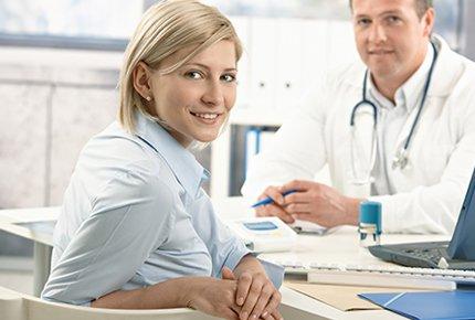 Скидка 50% на УЗИ, приём терапевта или эндокринолога в медицинских центрах ДиаТомПлюс