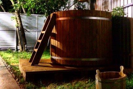 Три часа в бане «Дым и дрова» со скидкой 50%