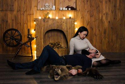Лав-стори фотосессия от Евгении Плаксиной в студии Lightroom со скидкой 53%