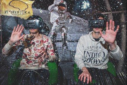 Посещение космического квеста в виртуальной реальности «Интерстеллар» со скидкой 50%
