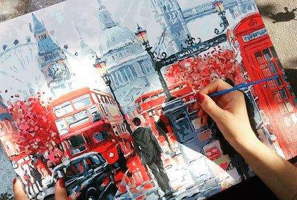 Картины по номерам от интернет-магазина «Радужный лис» со скидкой 50%