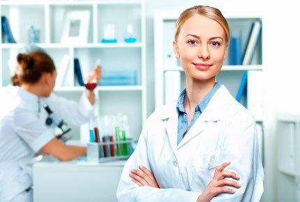 Прием врача-гинеколога со скидкой 60% в лабораторной службе Helix