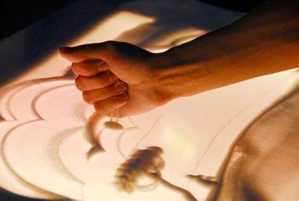 """Мастер-класс по рисованию песком от студии """"СэндПро"""" со скидкой 67%. Заплати 100 рублей вместо 300"""