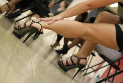 Абонемент на 8 занятий по стилетто – искусству красивой и изящной походки со скидкой 75%. Заплати 400 рублей вместо 1600