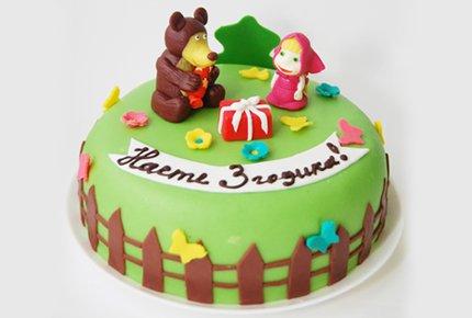 """Оригинальный детский торт в кондитерской семейного парка развлечений """"Игромания"""" со скидкой 50%"""