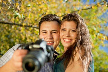 """Фотосессия """"Золотая Осень"""" со скидкой 60% от фотографа Никиты Вишневецкого"""