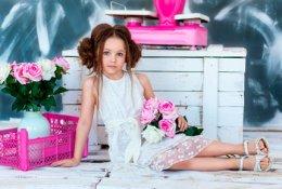 """Фото портфолио для девочек в фотостудии """"BABY STARS"""" со скидкой 60%"""