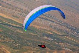 Совершите полет на параплане с опытным пилотом клуба «Новый горизонт» со скидкой 50%