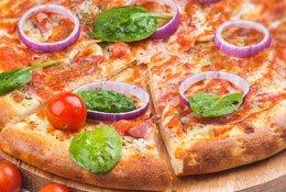 Вкусная и ароматная пицца со скидкой 50% с доставкой от «Party-Pizza»